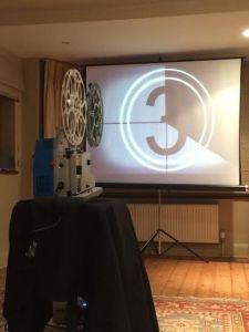TV Shoot 16mm projector hire