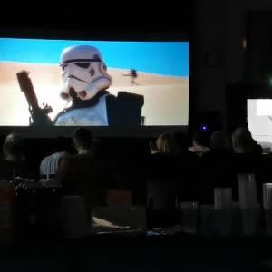 Starwars screen Hire