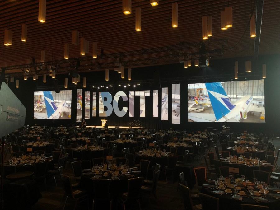 BCIT Distinguished Awards | Audio Visual Production Services | Proshow Audiovisual
