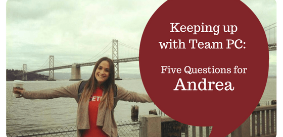 Andrea Five Things