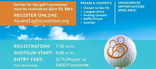 Aly & Izzy Foundation Charity Golf Tournament