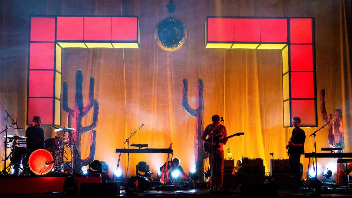 Glass Animals on Tour with DPA