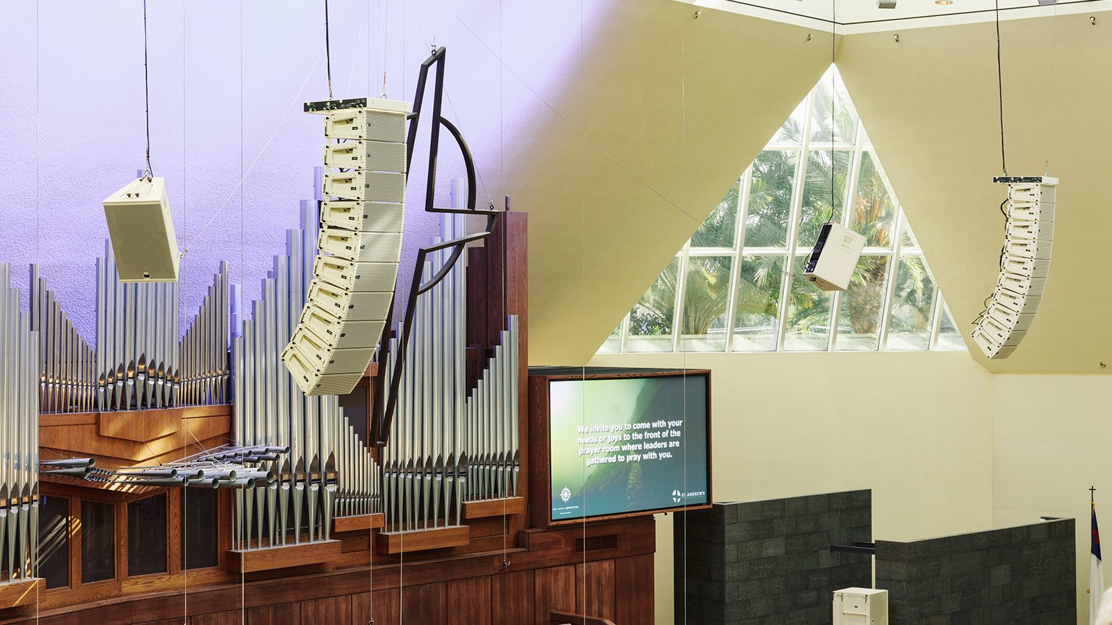 Meyer Sound LINA – the perfect choice for Houses of Worship