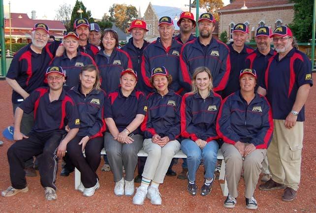 11-2007. SA State Team