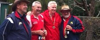 Interclub 2011 Rnd4 Winners, Brett Allan and Mike