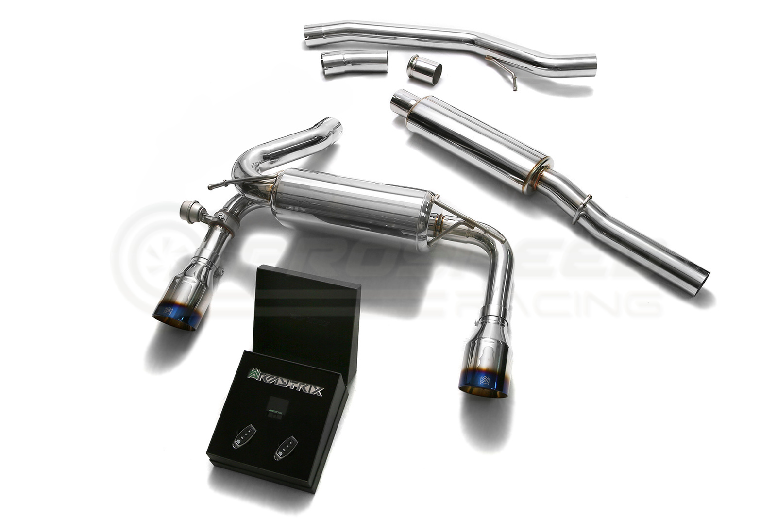 armytrix stainless steel exhaust system