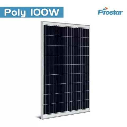 Prostar PPS100W renewable energy 12 volts poly solar panel 100 watts