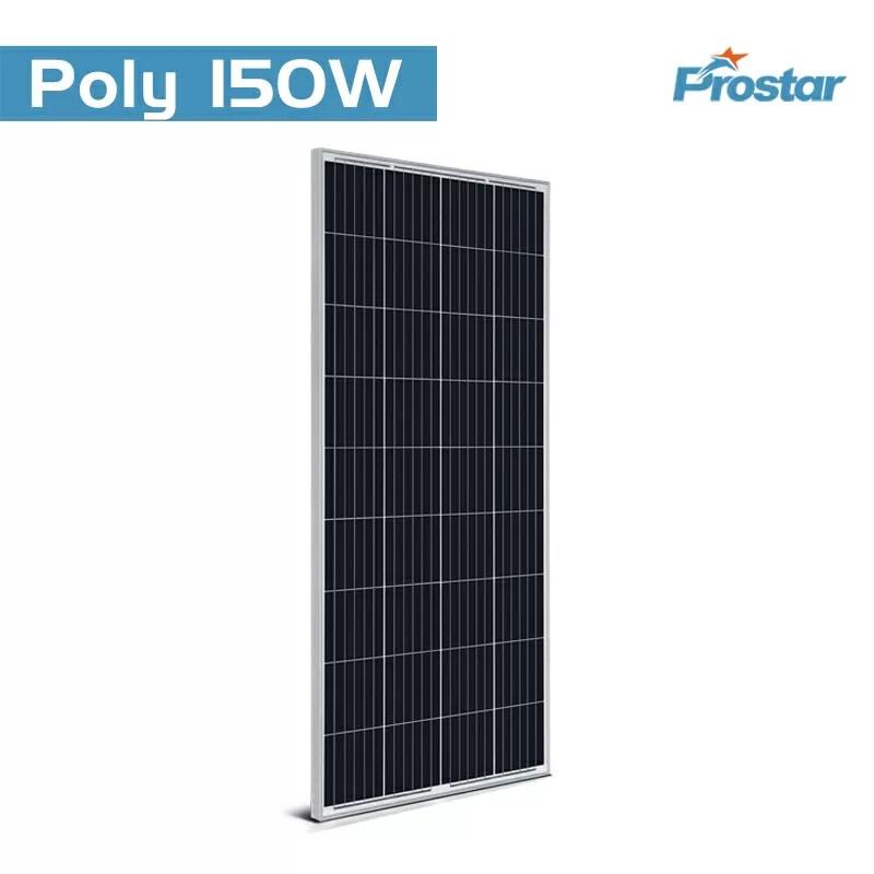 150 watt 12 volt polycrystalline solar panel