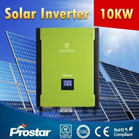 Prostar MIS10KW 3 phase hybrid bi-directional solar inverter 10kW 48v