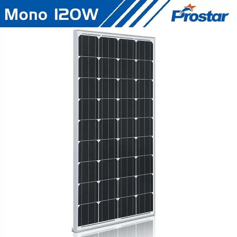 solar panel 120w