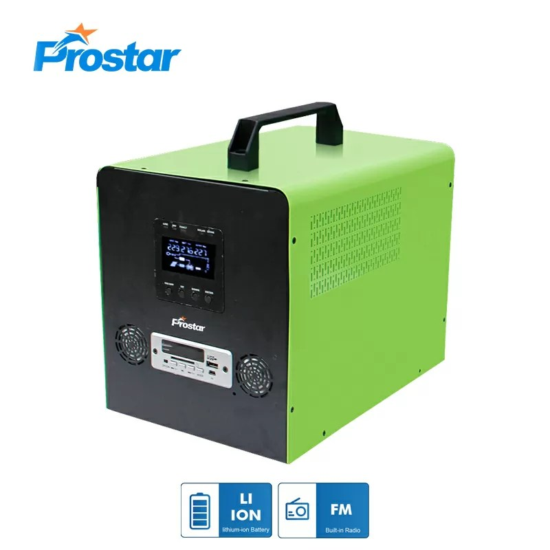 300w portable solar generator