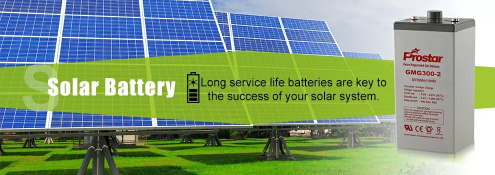 solar battery for your solar power system
