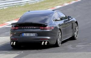 2020 Porsche Panamera track testing