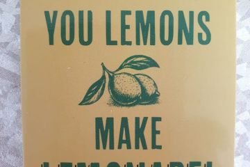 Making lemonade from lemons