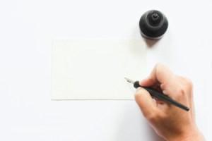 schrijf een brief