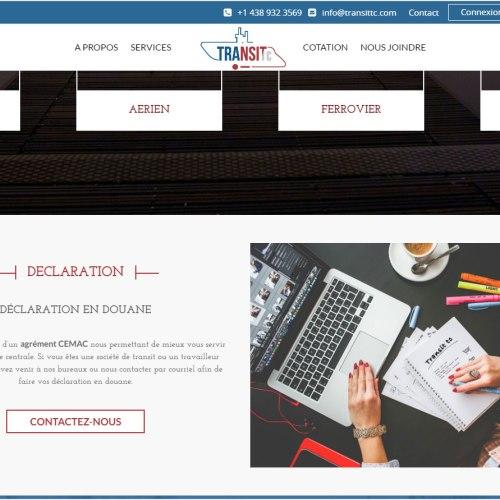 Agence web - Marketing digital - création site web - Protai-in | transittc.com