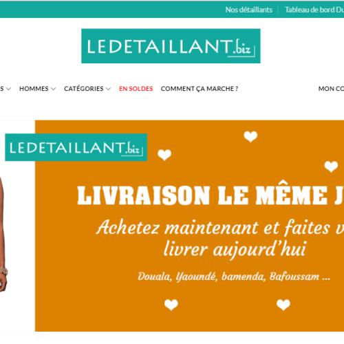 ledetaillant.biz - protaiin agence web cameroun-douala-montreal