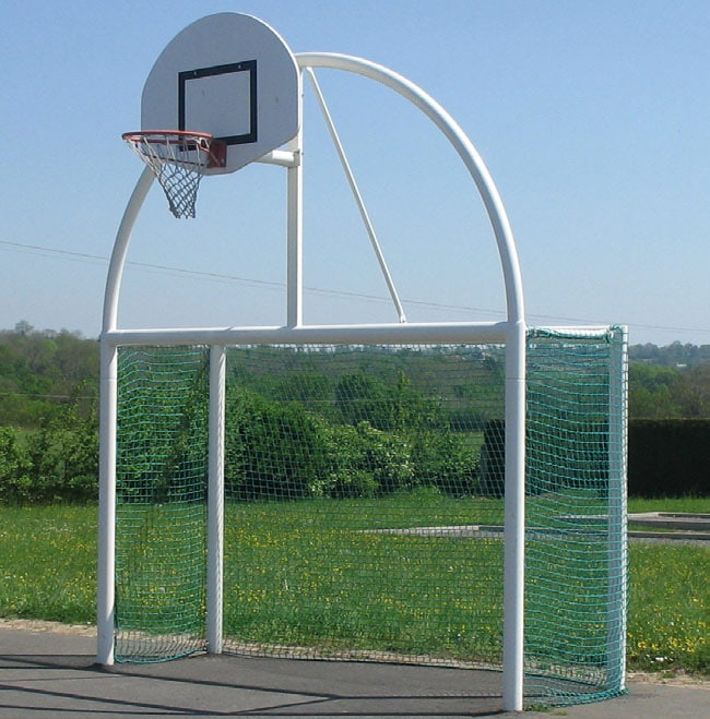 terrain, multisports, basket, football, city stade, urbain, mini pitc