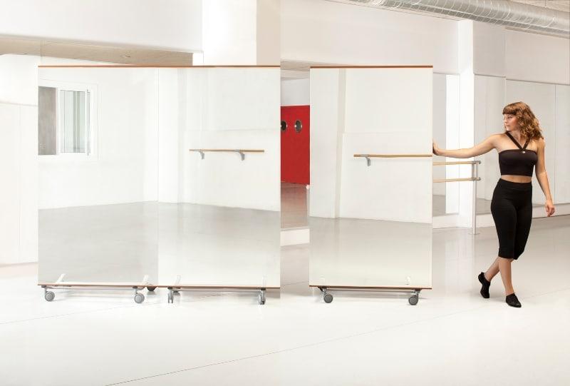 Miroir De Danse Mobile Playgones Ex Protec Sport Equipementier Sports Et Loisirs