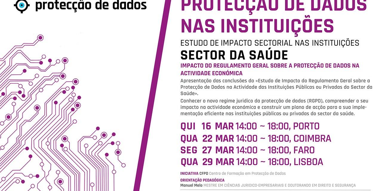 Curso de Formação – «Protecção de Dados Pessoais no Sector da Saúde»