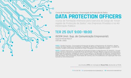I Curso de Formação Intensiva – «Encarregado da Protecção de Dados»