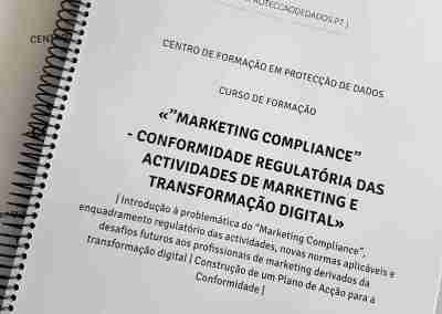 "Manual do Curso «""Marketing Compliance"" – Conformidade Regulatória das Actividades de Marketing e Transformação Digital»"