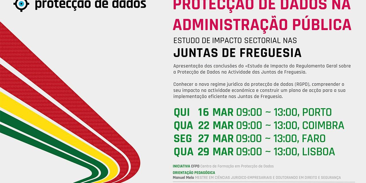 I Curso de Formação – «Protecção de Dados Pessoais nas Autarquias Locais – Juntas de Freguesia»