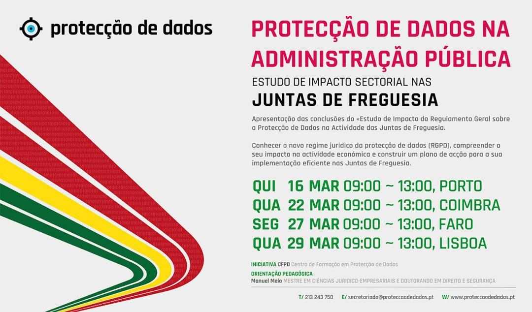 I Curso de Formação - «Protecção de Dados Pessoais nas Autarquias Locais - Juntas de Freguesia»