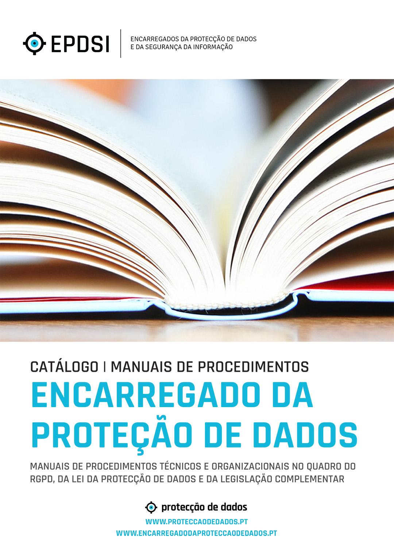 Catálogo Geral de Manuais - RGPD | GDPR - Protecção de Dados