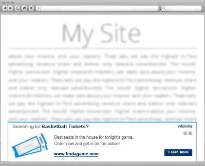 Infolinks InFold Ads