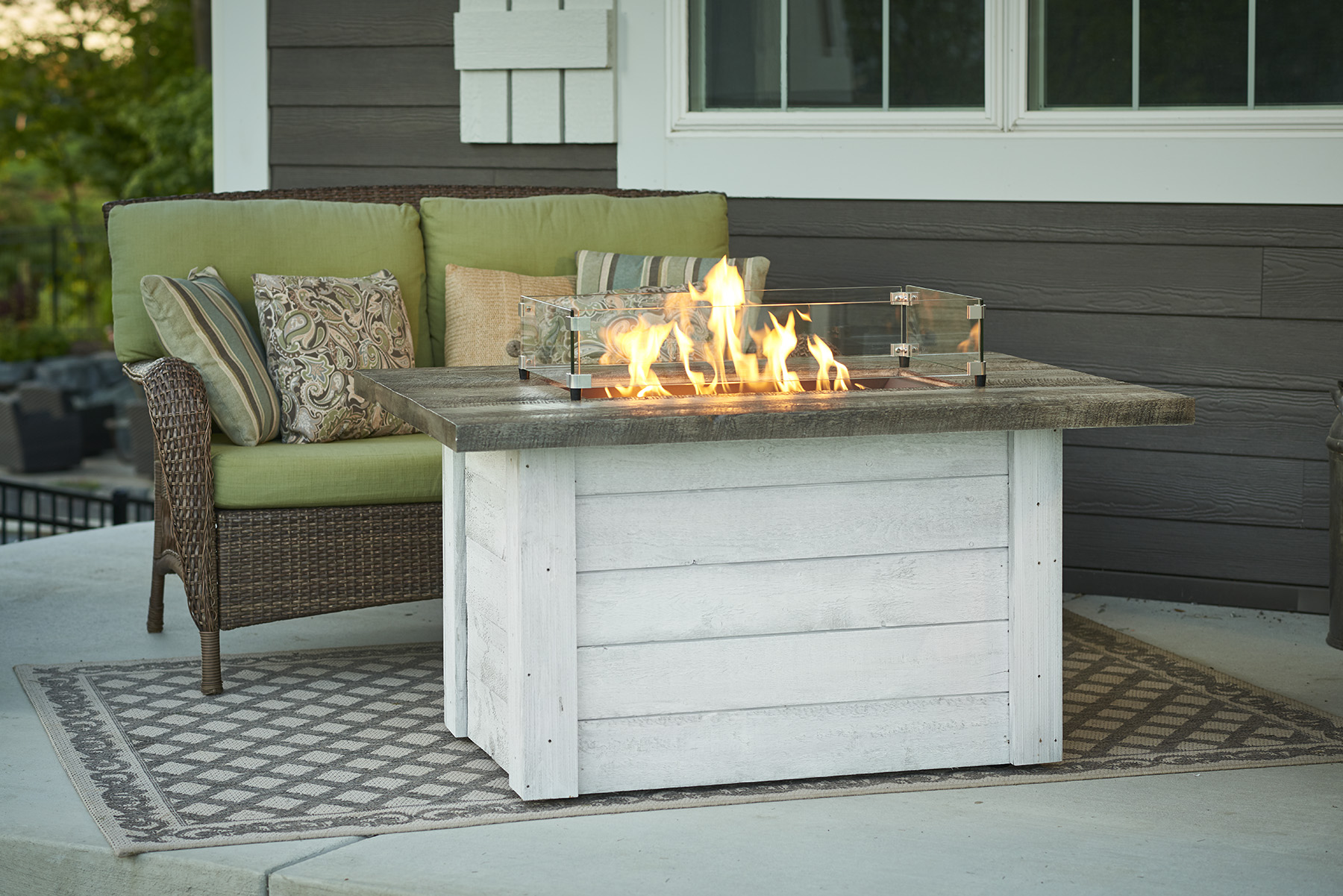 Outdoor Great Room Rectangular Fire Tables Protech Gasfitting Amp Plumbing