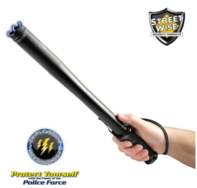 Police Force 9,000,000 Tactical Stun Baton Flashlight