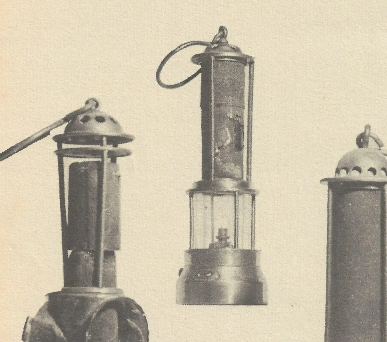 Antique Mining Lamps