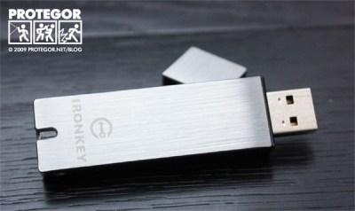 Clé USB IronKey
