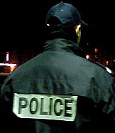 policier au forum des halles