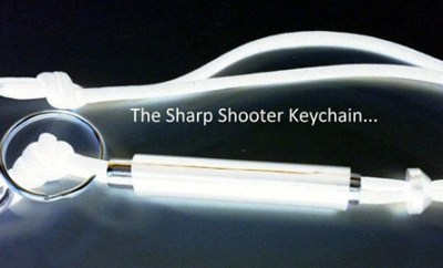 Sharp Shooter Keychain, le trousseau-fléau de défense