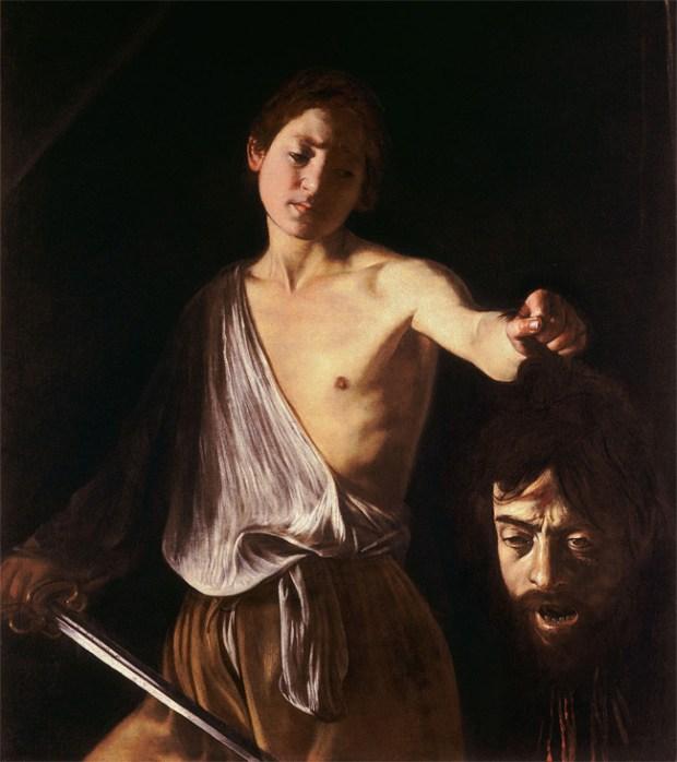 David & Goliath, Caravaggio