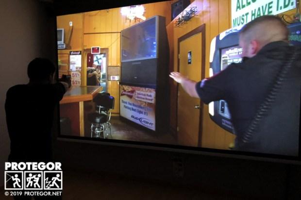Scènes réalistes filmées avec le Lasershot