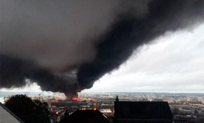 Evacuation «NRBC» à Rouen