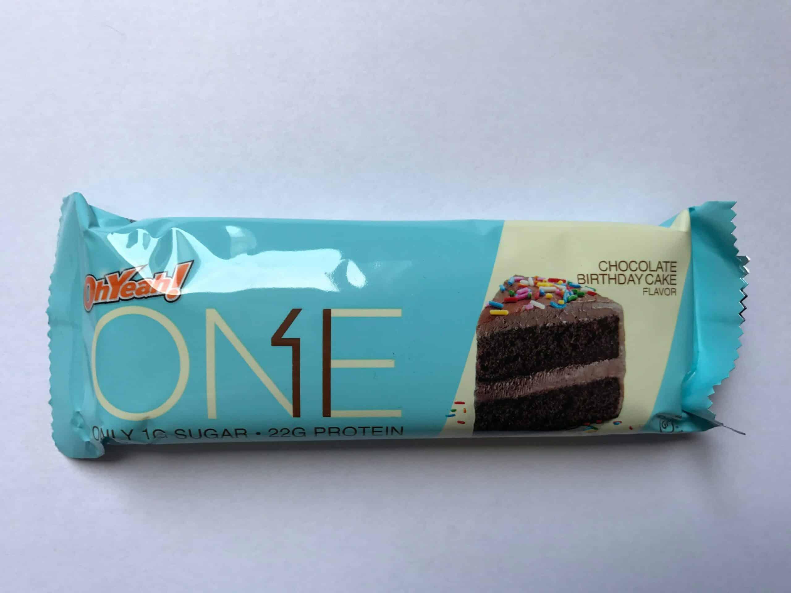 Iss Oh Yeah One Bar Protein Riegel Chocolate Birthday Cake 60g Proteinriegel Test