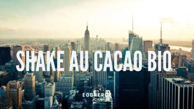 Le shake au cacao bio