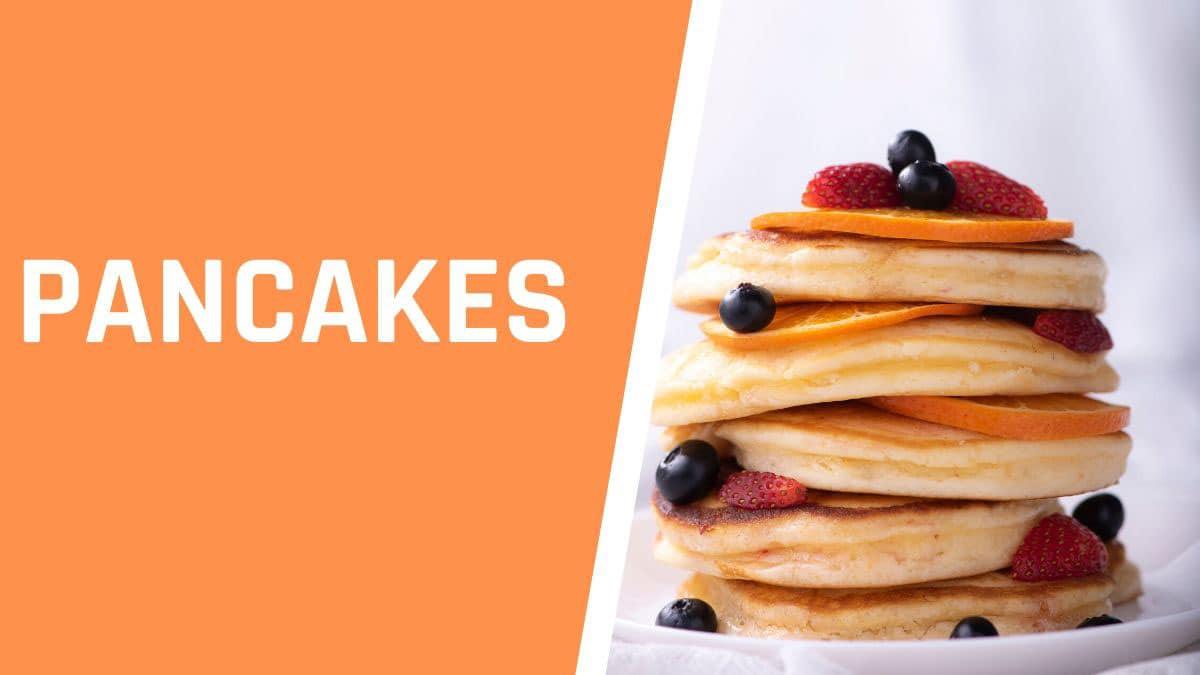 Pancakes protéines de soja bio
