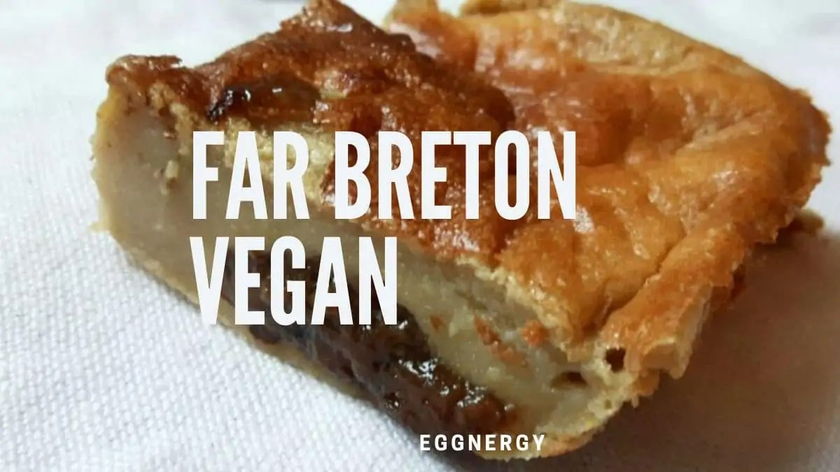 Far breton végan et protéiné au soja bio