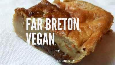 Read more about the article Far breton végan et protéiné au soja bio