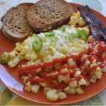petit déjeuner israëlien