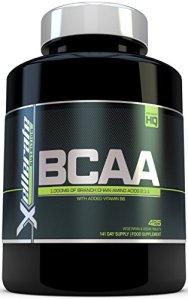 BCAA Comprimé 1000mg – 425 Comprimés – 3000mg Portion Journalière – Approvisionnement pour 141 Jours – 2:1:1 d'Acides Aminés à Chaîne Ramifié -L-Leucine, L-Isoleucine, L-Valine