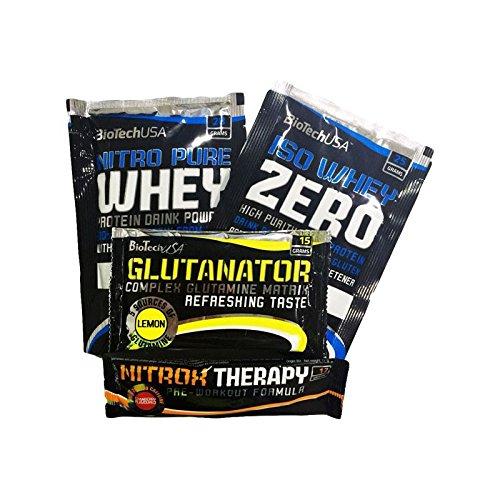 Nitro Pure Whey Gold – 1 sachet (28 g) – Choco coco – Biotech