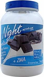 Night Protein + ZMA, Chocolate – 1000 grams by Activlab M by Activlab