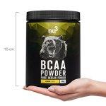 nu3 – BCAA en poudre | 400g | goût citron | Rapport optimal d'acides aminés 2: 1: 1 | Complément pour un boost supplémentaire en énergie ou perte de poids | Vegan