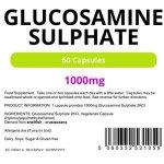 Lindens – capsule 1000mg Glucosamine – 60 Pack